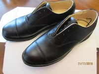 MEN'S SIZE 8 LEATHER OXFORD SHOES $160 NEW Angus