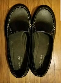 black leather loafers Cuyahoga Falls