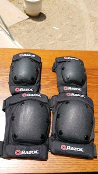 two black-and-gray knee pads Albuquerque, 87121