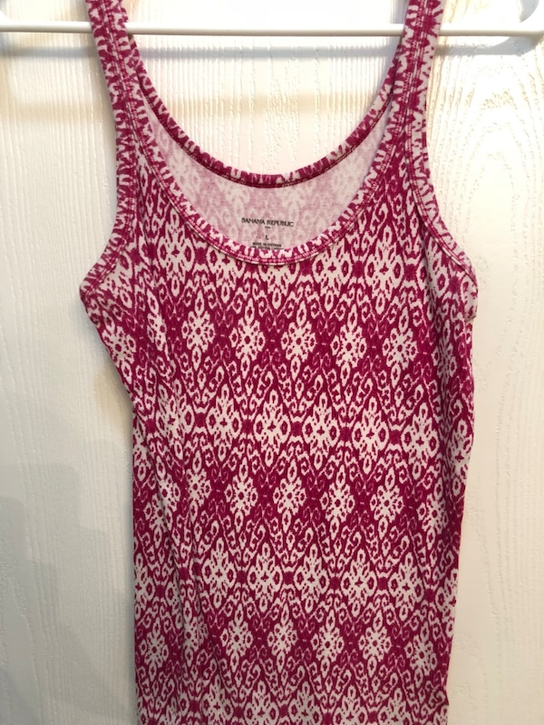 716883e1d6cf0 Used Banana republic pink tank top for sale in Denton - letgo