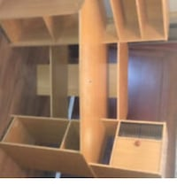 brown wooden 5-layer shelf Innisfil, L0L