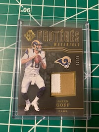 Jared Goff Rookie Patch from Panini Majestic  Kingsport, 37663