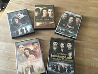 Twilight movies DVD Montréal, H1R 3R9