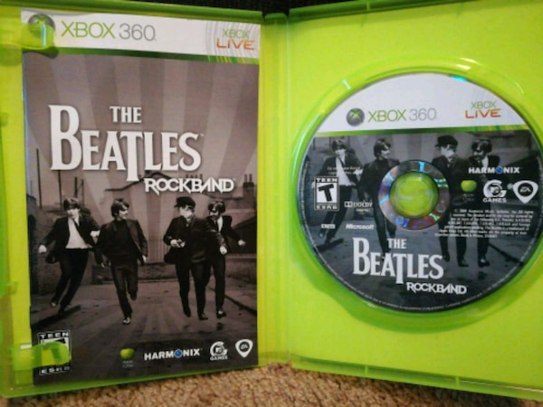 The Beatles for Rock Band Xbox 360