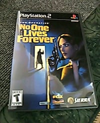 PLAYSTATION 2 GAME..NO ONE LIVES FOREVER...