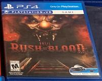 PS4 rush of blood