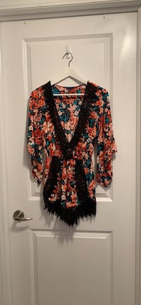 Floral Romper-Small Mississauga
