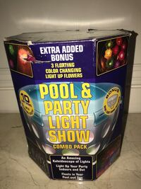 Pool & Party Light Show Combo Pack Miami, 33175