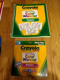 Crayola Color Wonder kit  Stafford, 22554