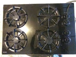Electric and gas stove surface