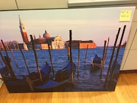 Venice-themed large print on canvas Annapolis