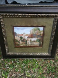 brown wooden framed painting of house Gainesville, 32607