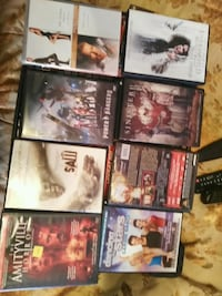 assorted-title DVD case lot EXCELLENT CONDITION St. Catharines, L2R 3W8