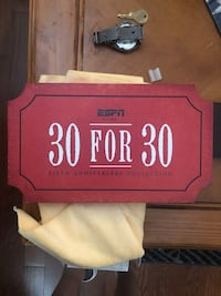 ESPN 30 for 30 all cds inside case great watch Bolton, L7E