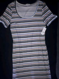 Large striped dress brand new  Simcoe