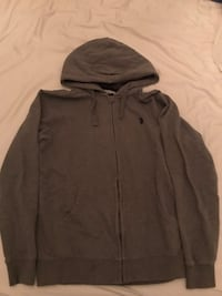 Men's Grey Polo Hoodie Mississauga, L5E 3E3
