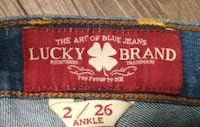 women's lucky name brand jeans