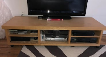 Modern TV Stand Media/Entertainment Console Cabinet $40