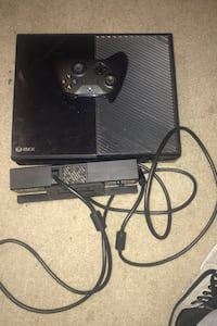 Xbox one with a webcam and controller