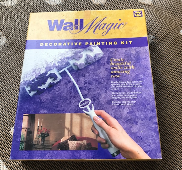 Wall Magic Painting Kit New In Box Valued At Over 49 00
