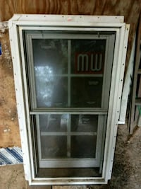 window,,,21and1/2 inches wide,,40 and 3/4 inches tall. 40 dollars Front Royal, 22630