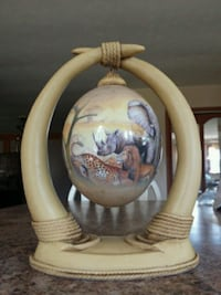 Ostrich egg from Disney  Wrightsville, 17368