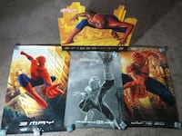 Spider-Man Movie Poster & Display Lot marvel  Marietta, 30062
