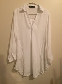 white button-up long-sleeved shirt Halifax, B3M 1E5