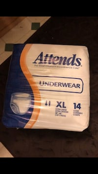 Attends case size Large pull up diapers San Antonio