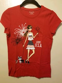 """New The Children's Place """"love U.S.A"""" tee Costa Mesa, 92627"""