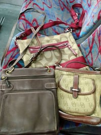 Coach, Fossil and Dooney  (used) you buy the 3  free bagpak