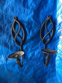 Iron Candle Sconces in Great condition Frederick, 21701
