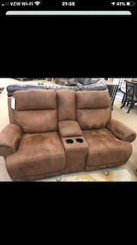Leather movie couch Woodbridge, 22192