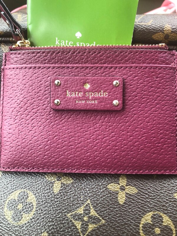 Kate Spade Card Holder~ New Never Used