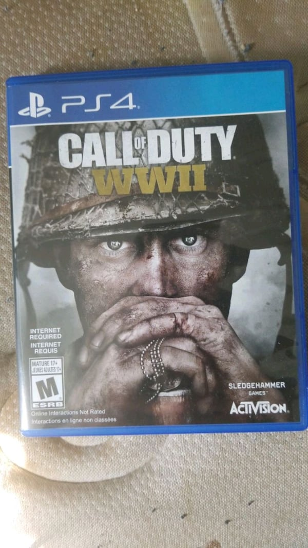 Ww2 for ps4  3c5d43c7-5b72-469b-9456-cfc3ac69995d