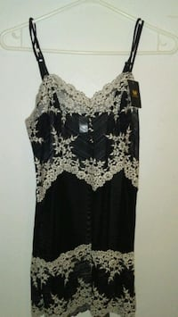 Black white lace mesh lingerie Winnipeg, R3A 0C1