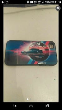 blue BMW M5 E39 iPhone 4/4s case