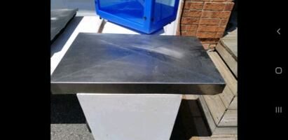 Restaurant Prep Table Cover Stainless Steel