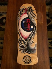 Santa Cruz Roskopp skateboard deck San Francisco, 94109
