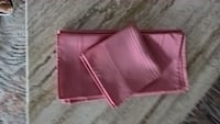 6 Fabric (Poly) Napkins - Pink