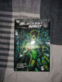 DC Comics Blackest Night 2010 Hardcover Toronto, M6L 1A4