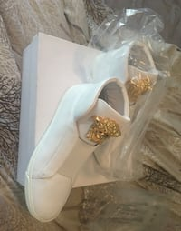 White Gold Versace Shoes Garland, 75043