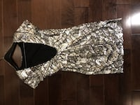 ***Closet Sale*** Silver Sequin Holiday Dress (medium) Markham, L6G