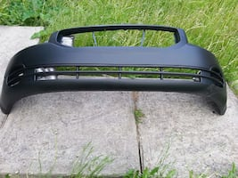 black car bumper