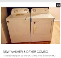 white washer and dryer set Waldorf