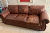 Leather Couch Saint Cloud, 34769