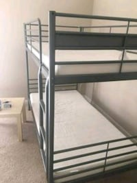 white and black wooden bunk bed Stockton, 95205