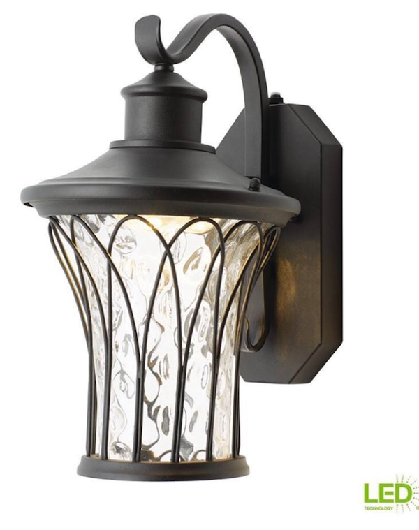 Outdoor Led Dusk To Dawn Exterior Light With Gl