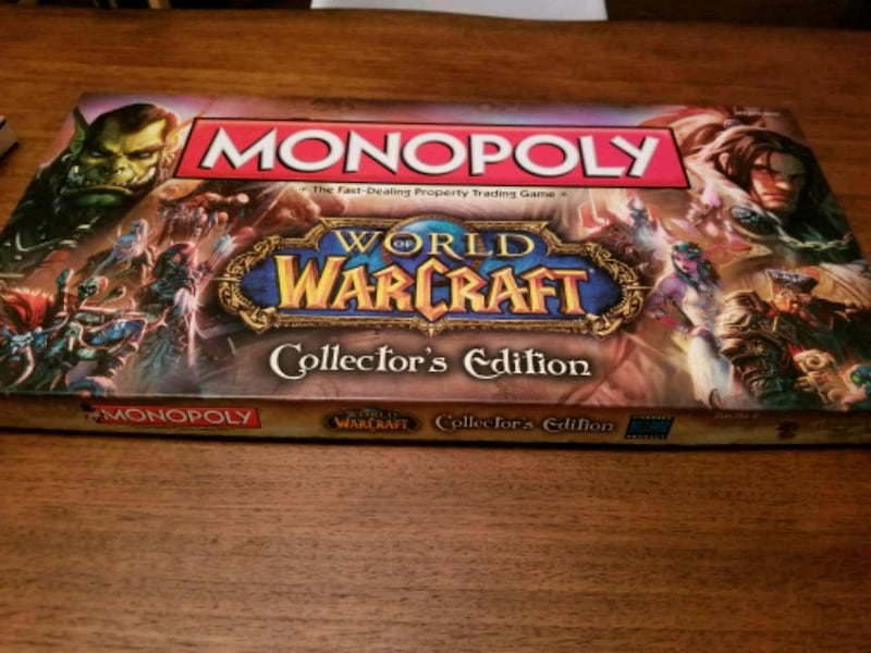 World of Warcraft Monopoly 0