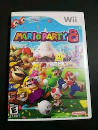 Mario Party 8 Wii  Comes in box with manual Toronto, M6P 1A6